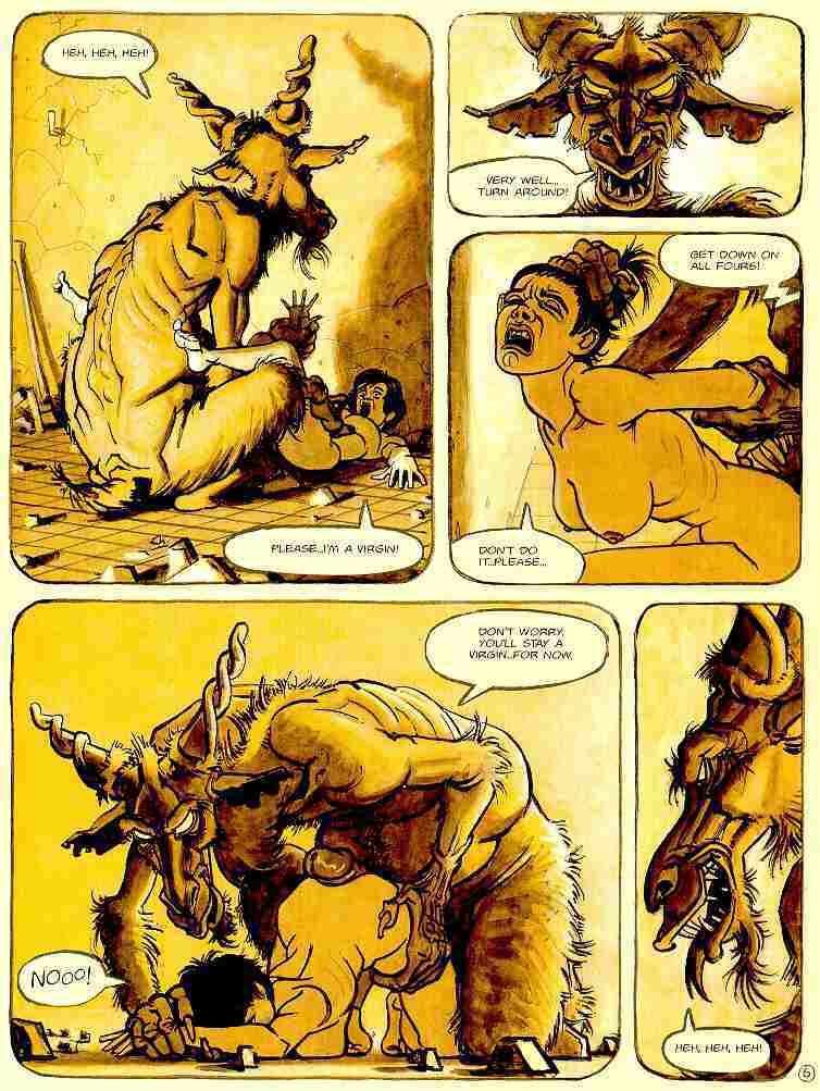 дьявол ебет монашку эротические комикс фото