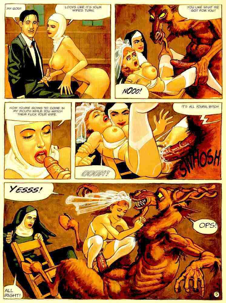 монахиня невеста бога порно